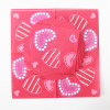 Disposable Party Paper Napkin with Heart Printed