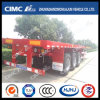 40FT 3axle Strengthened-Beam Flatbed Semi-Trailer
