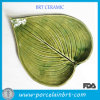 Heart-Shaped Leaf Ceramic Restaurant Plates