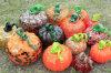 Beauty Various Color Murano Glass Pumpkin for Art Decoration (YK-G4)