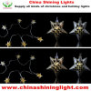 Metal Star Holiday Decoration LED Bulb Christmas Light