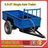 China Mini Farm Trailer for Tractor 15-30HP