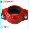 Grooved Pipe Coupling with FM UL Ce Certifications for Fire Protection Project