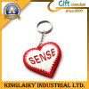 Promotional Plastic Keyring with Heart Shape for Gift (KRR-007)