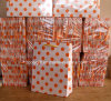 Cheap Wholesale DOT Printing Gift Paper Bags