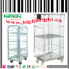 Heavy Duty Wire Mesh Pallet Cage with Wheels