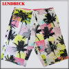 Men′s Beach Shorts with Flower Style