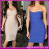 2014 New Wholesale Women Fashion Design Sleeveless Bodycon Bandage Dress (TX10601)