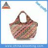 Practicability Foldable Recycled Handle Cooler Lunch Bag Shopping Tote