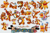 Tigger Wall Sticker (TP-027)