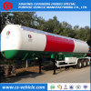 3 Axle 20tons 50000L 25tons LPG Tank Semi Trailer
