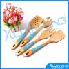 4 Wooden Spoons Spatula Cake Making Cooking Kit