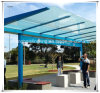 Steel Frame Design Carport Canopy /Bus Shelters