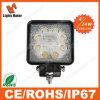 Lml-0524 24W Square 4'' Heavy Duty Machine LED Work Light ATV, Forklift, Mining Offroad Light SUV Boat Truck LED Work Light Truck