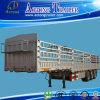 60ton 3 Axles Fence Cargo Semi Trailer
