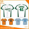 Healong Fashion Sportswear Sublimation 100% Mesh Polyester Baseball Jersey