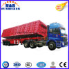 Jushixin Manufacture Heavy Truck 3 Axle Side Tipping Dumper Trailer for Sale