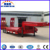 3axle 60tons Lowbody Lowbed Semi Trailer with Jost Landing Gear