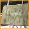 Luxury Light Green Onyx for Interior Decoration, Background Wall