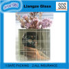 Laminated Glass with White and Grey Lines