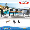 Stackable Sling Garden Dining Table Sets with 6 Chairs