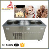 Double Pan Frying Ice Pan Machine Supplier