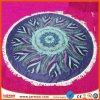 Custom High Quality 480GSM Printed Microfiber Round Beach Towel