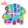 New Hottest Educational Puzzle Wooden Number Puzzle for Kids W14b083