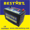 High Quality Vehicle Battery Accumulator 80ah 12V Car Battery Nx120-7-Mf