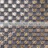 Golden Crystal Glass Mosaic Wall Tile (DT59)