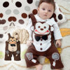 2014 Cute Kids 100% Cotton Bib Pants (TS 012)
