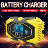 12V 24V Intelligent Auto 2ah-150ah Smart Battery Car Charger for Car Truck Van Engineering Vehicle ...