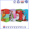 Glossy Laminated Art Paper Merry Christmas Shopping Gift Paper Bag