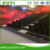 Floor Mounted Fabric Telescopic Bleachers Manual or Motorized Bleacher with Foam Chair Jy-768f