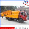 Small mobile Concrete Mixing Plant Truck Mounted Concrete Mixer Pump (JBC40)