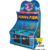 High Quality Game Machine-Happy Fish Coin Operated Game Machine Funny for Kids Newest Funny Crazy Alligator Lottery Ticket Lager Toy Gift Hitting Fish