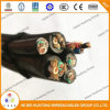 600V Type 12 AWG Sj, Sjo, Sjo, Sjoow, Soow Portable Cord and Power Cable UL Certificated