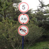 Traffic Signs with Reflective