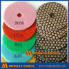 Flexible Polishing Pad for Concrete and Stone