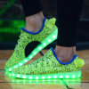 Wholesale LED Summer Light Shoes with Mesh Designed
