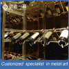 Customized Stainless Steel Silver Wine Racky for Chateau/Supermarket