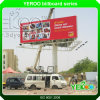 Strong Wind Resistance Q235 Steel Trivison Advertising Billboard