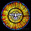 Printed Decorative Stained Glass Church Windows Glass