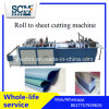 Fabric Cutter Machine, Plastic Roll to Sheet Cutting Machine