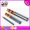 Solid CNC Carbide End Mill Helix45 End Mill for Steel
