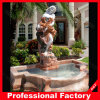 Stone Marble Carved Water Fountain for Outdoor Garden Landscape Yard