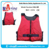 Short Boat Life Vest with Front Zipper
