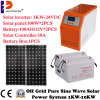 Easy Install Automatic 3kw/3000W Solar Power System for Home