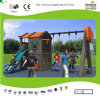 Kaiqi Plastic Slide and Swing Set for Children′s Playground (KQ50131D)