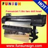 Factory Price Funsunjet Fs1802k 1.8m / 6FT Digital Outdoor Flex Banner Printer Fast Printing Speed 1440dpi